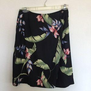 Tommy Bahama silk skirt size 8